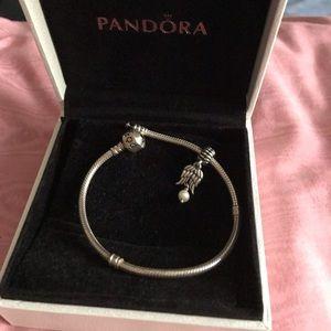 Bracelet and Charm • Pandora